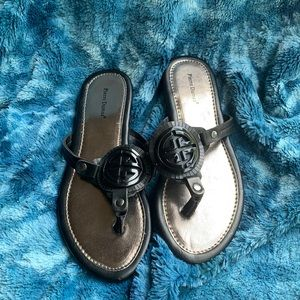 Women's size 8 black sandals